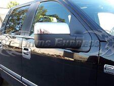 2004-2008 Ford F-150 Chrome Door Mirror Covers-Upper Half 2Pcs