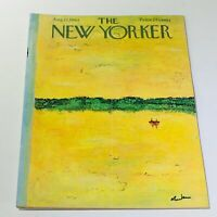 The New Yorker: August 17 1963 - Full Magazine/Theme Cover Abe Birnbaum