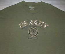 US ARMY / READY, WILLING & ABLE / ACADEMY USA / SINCE 1775 / GREEN T-SHIRT XXL