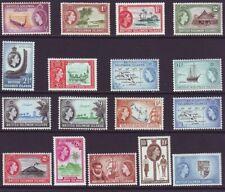 Solomon Islands 1956 SC 89-105 MH Set