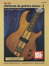 Methode de Guitare Basse 1 Bass Guitar Method French Edition Book/CD