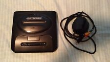 Sega Genesis 2 with power adapter and A/V cable