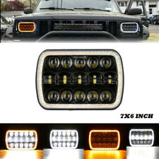 "7x6"" LED Headlights For Chevrolet Chevy S10 C2500/6500 Astro G10 G20 Cargo Van"