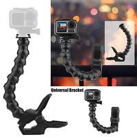 For GoPro Hero 8 7 6 5 Sjcam Yi 4K Action Camera Clamp Mount Bracket Accessory