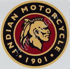 INDIAN MOTORCYCLE 1901   --   STICKER.    Z017