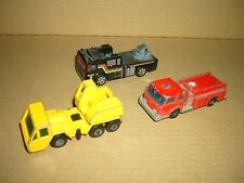 Konvolut Nr. 226 MATCHBOX-LESNEY Fire Pumper Truck,Fire Engine,Crane Truck