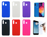 """Case Cover Gel TPU Silicone Samsung Galaxy A50 (4G) 6.4"""" + Optional Protector"""