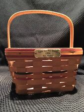 longaberger: Light The Fire Within 1996 Bee Basket