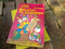 MICKEY PARADE n° 1174 bis 1ere série PICSOU LE MAGNIFIQUE de 1974 TRES BON ETAT