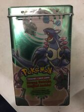 Pokemon EX Deck Box Tin, Sandstorm, Promos, Packs And Stickers Inside