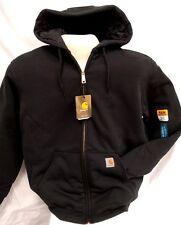 Carhartt Avondale 3 season Quilt lnd Sweatshirt/Jacket sz MEDIUM BLK [CBX#3-631]