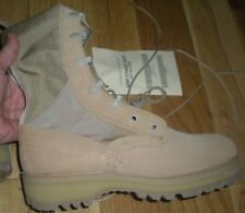 Military Hot Weather Vented Tan Combat 4.5 R Regular Boots Vibram Soles