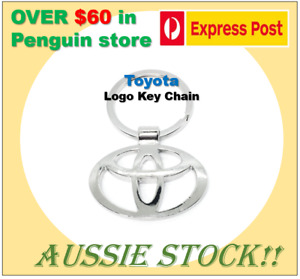 Toyota Logo Titanium Car Key Chain Keyring Car Keychain Keyring Aussie Stock