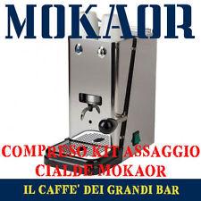 Macchina cialde Flytek Zip Acciaio Inox 44mm  kit 15 cialde caffè MOKAOR omaggio