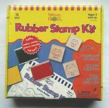 NIP Ideal School Supply FUNTASTIC FROGS Math Rubber Stamp Kit Homeschool