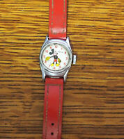 Vintage Ingersoll Timex Mickey Mouse Character Watch for Repair