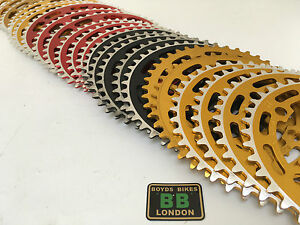 SUGINO Red Gold 39 40 41 42 43 44 45 NOS Chainring Old School BMX