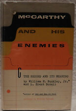 Buckley, Jr., William F. & Bozell, L. Brent.  McCarthy and His Enemies.  1st Ed.