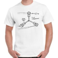 Back to The Future 80s Flux Capacitor Cool Vintage Retro T Shirt 1077