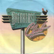 "7"" Single Breakfast Club Right On Track 80`s Chart Hit ""KULT"""
