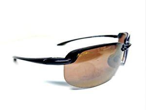 Maui Jim HOOKIPA Sport Sunglasses MJ 407-02 Gloss Black FRAMES ONLY P4