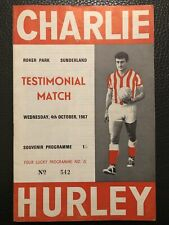 More details for 4.10.1967. charlie hurley's x1 v international x1, (hurley test)@ sunderland.