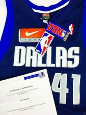 COA LOA Authentic Autogramm Signed Nike Nowitzki 48 NBA Basketball Trikot Jersey