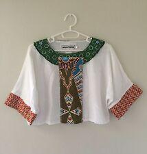 Handmade Ankara Crop Top,Bespoke,Festival, Boho, African, size Small 8-12 New