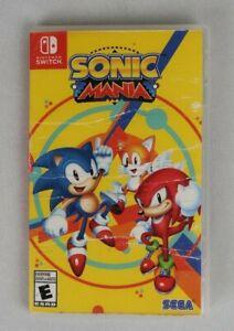 Sonic Mania Plus -Nintendo Switch New Sealed  Case Damage.