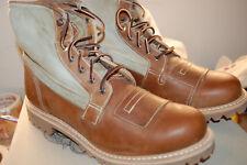 NIB Timberland Boot Company 6 Inch FL Lineman Boot Made USA 10 M $450 Brown