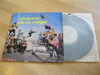 """10"""" LP Choeurs de la Volga Populaire Le Chant du Monde LDM 4164 Vinyl"""