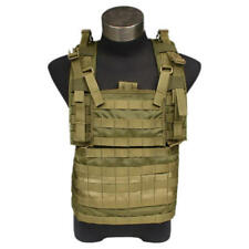 FLYYE RRV MOLLE Chest Rig Tactical Vest Plate Carrier - Khaki Coyote Brown OD