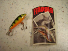 RAPALA COUNTDOWN CD-3 P_ESCHE ARTIFICIALI- SINKING 3cm/4g PERCH PERSICO