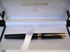 fountain pen Waterman l'etalon lacca verde pennino oro 18 kt 750 F