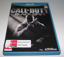 Call of Duty Black Ops II Nintendo Wii U PAL *Complete*