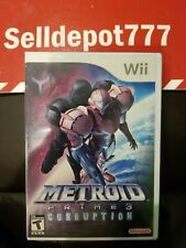 Metroid Prime 3: Corruption (Nintendo Wii, 2007) Brand New
