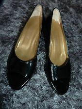 Wedge Patent Leather Formal Shoes for Women