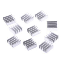10pcs 11*11*5mm Aluminum radiator heatsink electronic chip cooling block