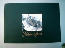GOLDEN SPIRIT BY ZIMMER BROCHURE IN ENGLISH RARE ITEM  good  condition
