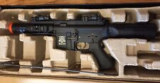 FIX or PROP- Full Metal M4 Cobra Assault Rifle w Blowback Electric Airsoft Heavy