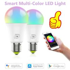 Wifi Smart Multi-Color LED Light Bulb for Amazon Alexa and Google Assistant