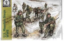 Waterloo/HAT US Mountain Troops WWII in 1/72 HTI31 ST