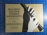 Notenheft Das Spiel auf der Sopran Blockflöte Teil 2 Edition Moeck 2002 B23092