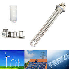 12v 300w Low Voltage Submersible Water Heater Element for Solar Panel 1''BSP New