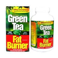 Green Tea Fat Burner, 200 Fast-Acting Liquid Soft-Gels, Max Strength Made in USA