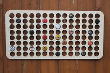112 Bottle Cap Holder Map Beer Cap Map Collection Gift Art