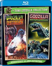 Godzilla vs Destoroyah / Godzilla vs Megaguirus | New | Sealed | Blu-ray