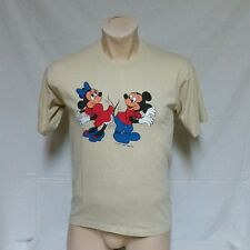VTG 1979 Disney Mickey Mouse Minnie T Shirt 80s Cartoon Tee Dancing Thin Soft XL