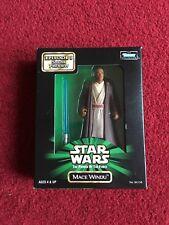Star Wars Potf 1998 Kenner Mace Windu-episodio 1 ⭐ en caja Figura de demostración
