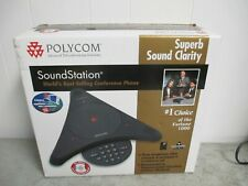 Polycom SoundStation EX Wireless Conference Speaker Phone External Microphones